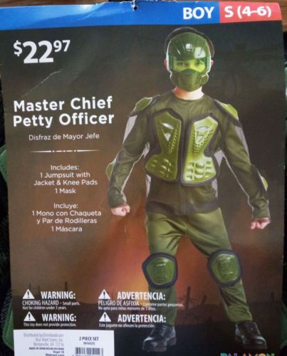 US $18 99 |New Boys Kid's Master Chief Petty Officer Halloween Set Cosplay  Party Costume-in Clothing Sets from Mother & Kids on Aliexpress com |