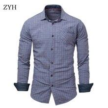 Spring autumn Men shirts 2018 cotton men shirt high quality brand shirt men casual long sleeved men shirts
