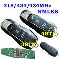 3 4 кнопки Smart Remote Key 315 МГц 433 МГц 434 МГц для Porsche Panamera Macan Cayman 911 918 Spyder Cayenne