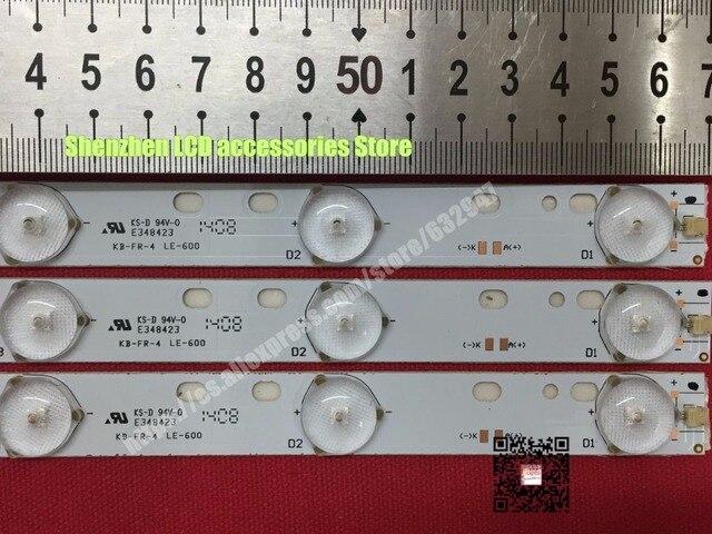 LCD טלוויזיה LED אחורי אור D304PHHB01F5B KJ315D10 ZC14F 03 303KJ315031 D227PGHBYZF6A E348423 1PCS = 10LED 570mm