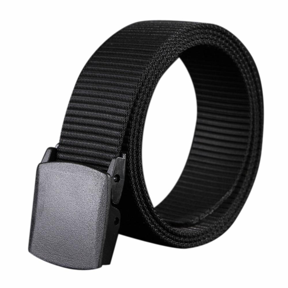 Men Belt Army Military Belts Adjustable Belt Men Outdoor Waist Tactical Waist Belt With Plastic Buckle For Pants Canvas Belt