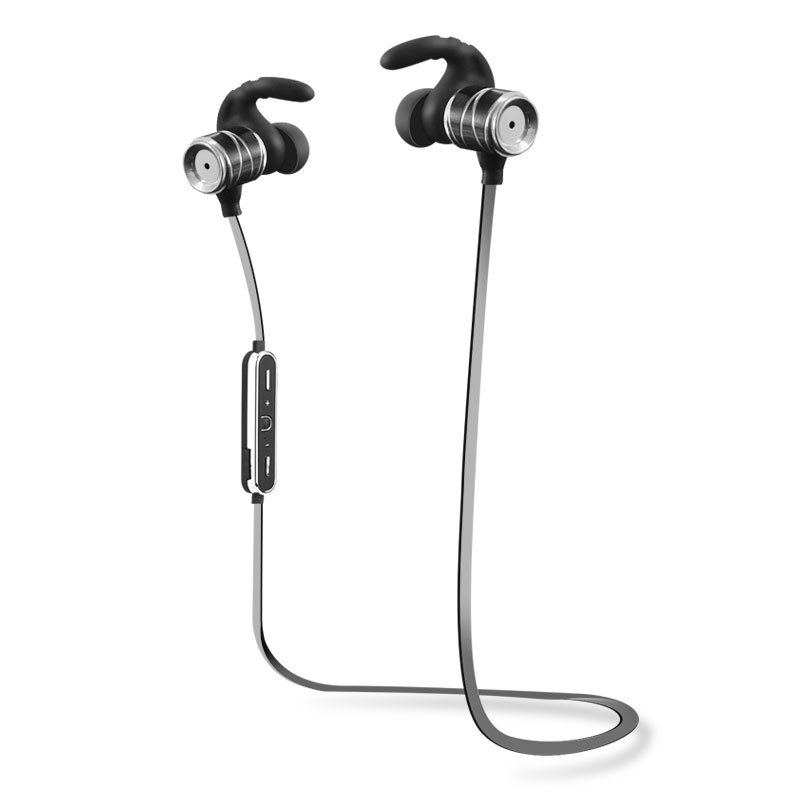Bluetooth 4.1 Earbuds, Wireless earphones For Sports, Running And Travel, Sweatproof, Secure-Fit Headset Noise Cancelling w/ Mic enterprise secure wireless authentication eswa