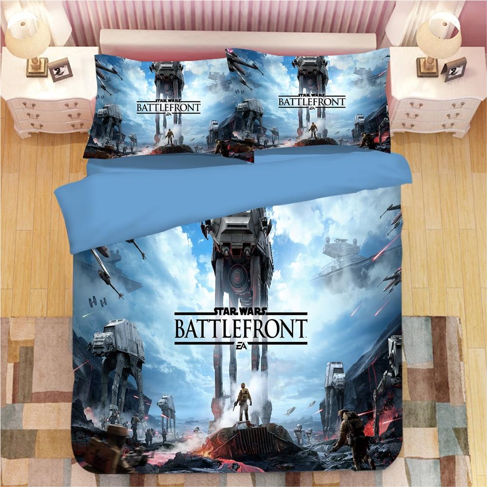3d Star Wars Bedding Set Luxury Duvet Cover Set Pillowcases Single