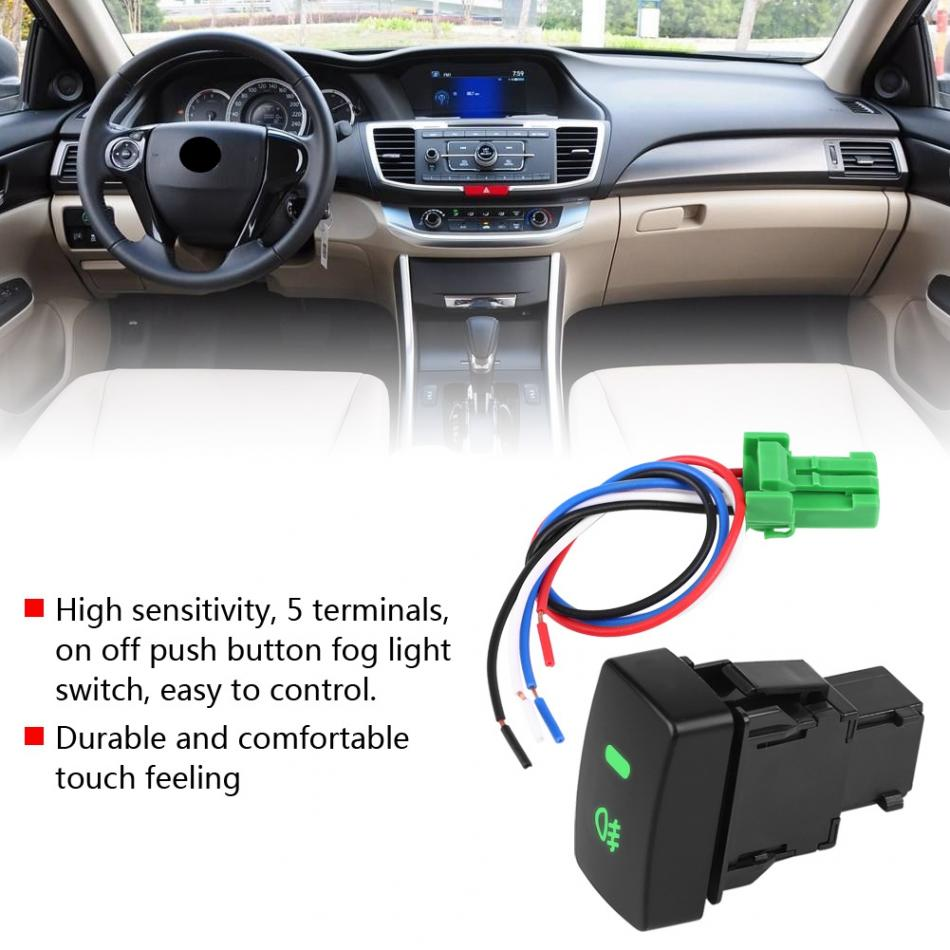 Aerial Switch 5-Pin 12V Car Auto Automotive 4 x Universal Electric Window