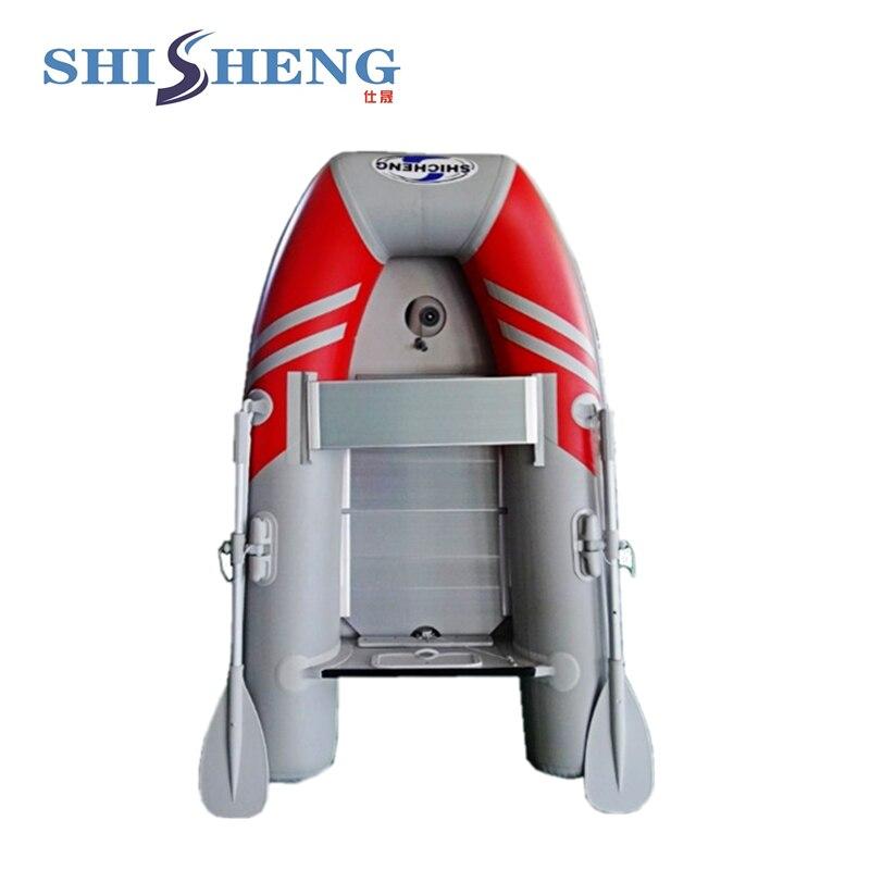 2018 petit bateau de pêche chinois/bateau gonflable en pvc pour une personne - 2