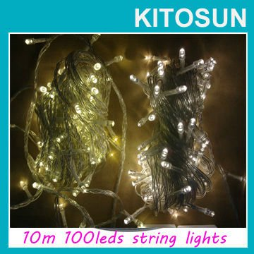Free shipping Sale High quality 10M 100 magical LED String Lights Holiday decor super brightness led string lights