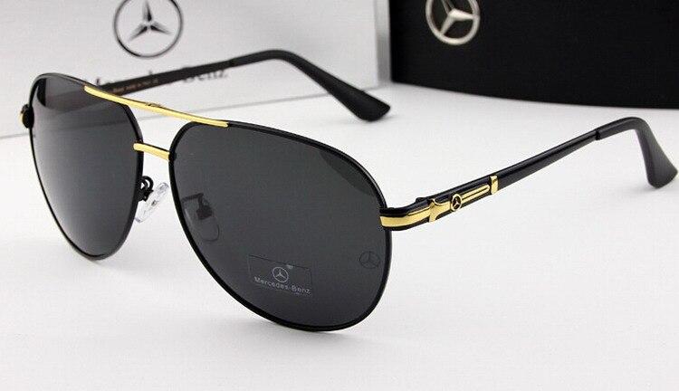 7fdc7e4b5509 ... Mercedes-Benz Sunglasses Polarized Sports Men Coating Mirror Driving  Sun Glasses oculos Male Eyewear Accessories ...