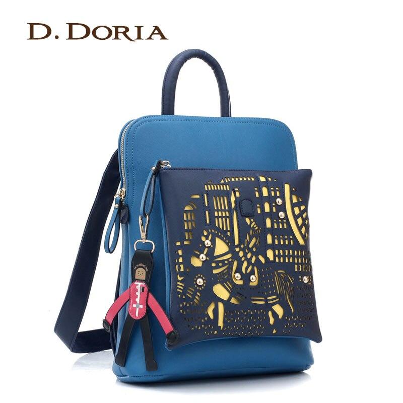 ФОТО New fashion Backpack women's preppy style vintage backpack student school bag ,high quality brand design women's  shoulder bag