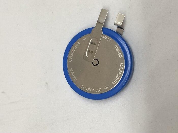 Nouvelle batterie originale de dioxyde de manganèse de lithium à hautes températures de MAXELL CR2450HR CR2450 2450 3V batteries au lithium