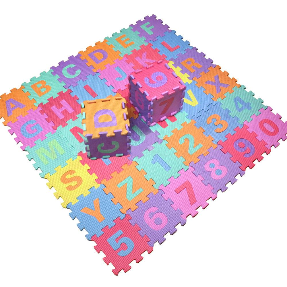 aliexpresscom  buy  new pcs soft eva foam baby children  - aliexpresscom  buy  new pcs soft eva foam baby children kids playmat alphabet number puzzle jigsaw from reliable number mats suppliers on