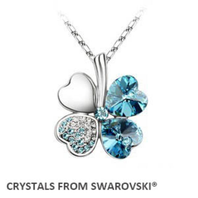 Clover Necklace Crystals from Swarovski