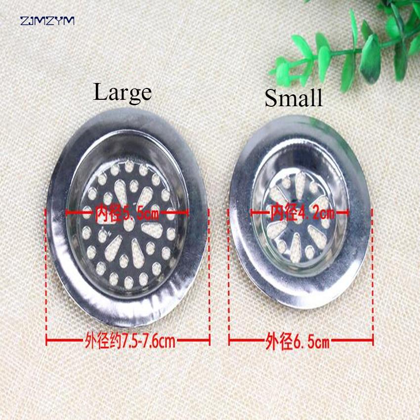 1 шт. из нержавеющей стали сетчатый фильтр для ванной Крышка для душа Кухня Ванная комната сетка для стока раковины сетчатый фильтр сток