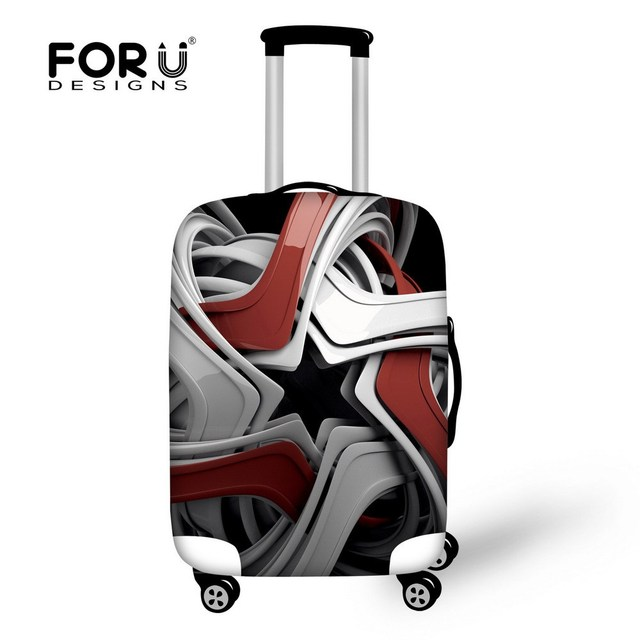 Unique Elastic trolley Accessories Dustproof Luggage Cover Durable Protective Travel Suitcase Cover for 18-30 inch Suitcase