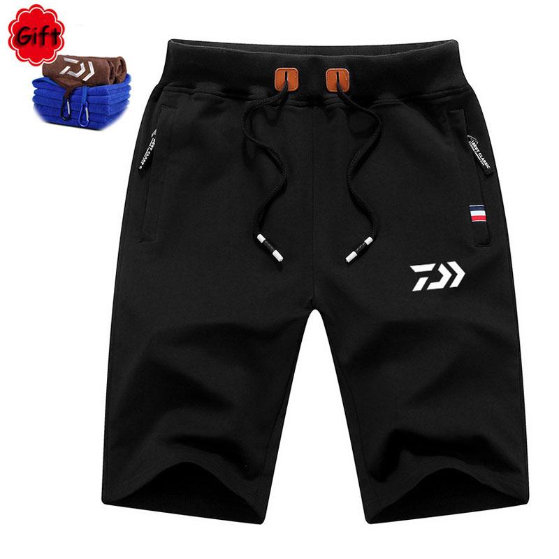 Hot Sale Summer Men DAIWA Fishing Pant Outdoor Climbing Sports Pants Breathable Short Pants Fishing Clothing Pesca Trouser