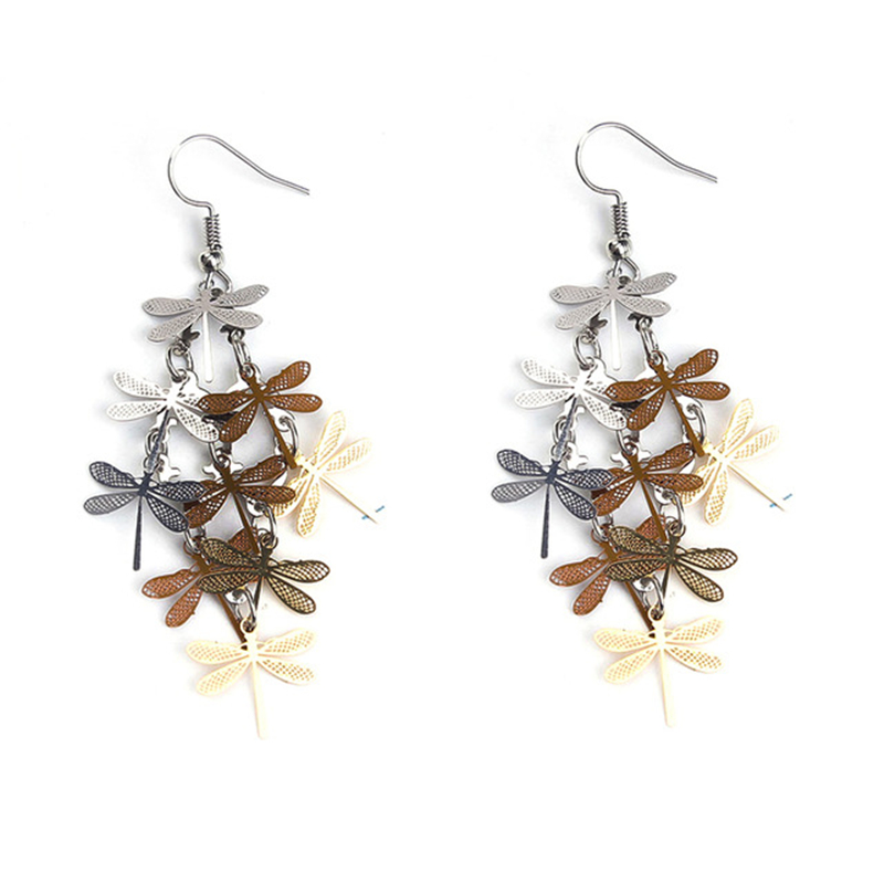 8SEASONS-New-Fashion-Earrings-Ear-Wire-Hooks-Dragonfly-Animal-dull-silver-color-Rose-gold-color-Hollow.jpg_640x640