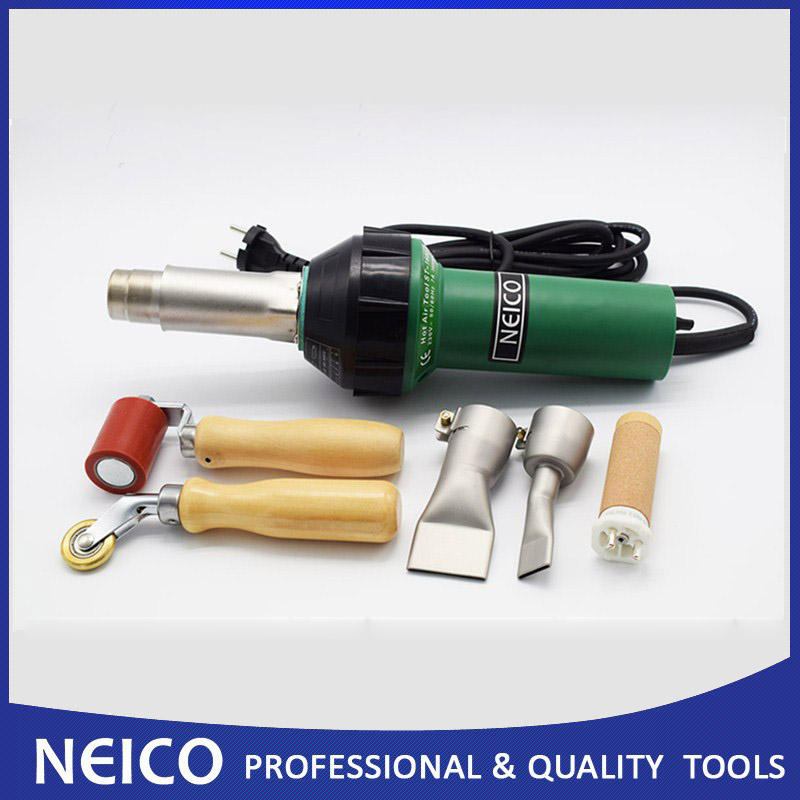 Free Shipping 110V Or 230V 1600W Roofing Membrane Plastic Vinyl Hot Air Welder Heat Gun With