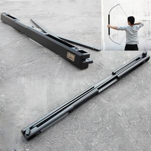 Image 1 - Arbalète chasse 35/55 lb Portable adulte pliant arc en alliage daluminium matériel arc et flèches pour adultes tir à larc