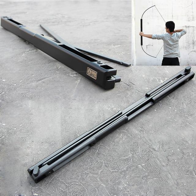 Arbalète chasse 35/55 lb Portable adulte pliant arc en alliage daluminium matériel arc et flèches pour adultes tir à larc