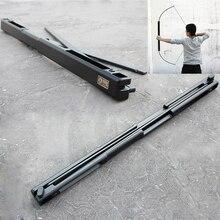 Balestra da caccia 35/55 lb arco pieghevole per adulti portatile materiale in lega di alluminio arco e frecce per tiro con larco per adulti
