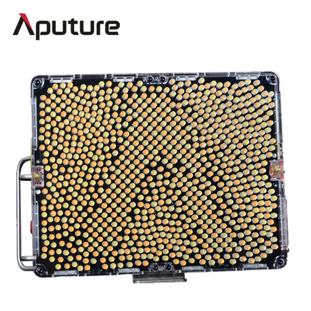 Aputure Amaran Tri-8c LED Studio Video Photography Light 2300k-6800K Color Temperature With NP F970 Battery Easy Box V mount