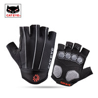 CATEYE Half Finger Running Gloves Anti shock Gel Pad Bicycle Bike Gloves Cycling Camping Fitness Gym Gloves Men Sport Equipment