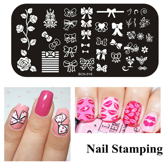 New Arrival Hot Sale Nail Stamping Plates Art Stamp Manicure Template DIY