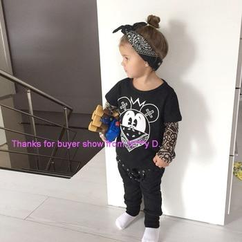 Baby Boy's Splash Mouse Printed T-Shirt 6