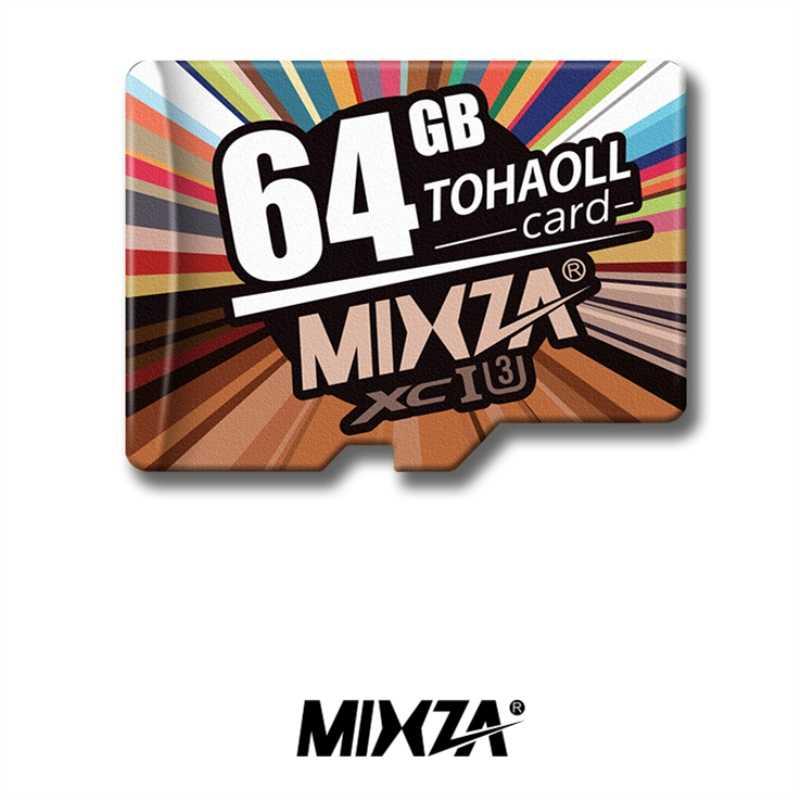 MIXZA U3 Micro SD Card da 256GB 128GB 64GB 32GB UHS-I Flash 4K Video Schede di Memoria u3 Carta di TF più veloce di Class10 per il telefono PC