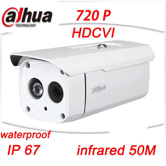 1MP 720P Water-proof dahua HDCVI camera IR 50M-Bullet Camera DH-HAC-HFW1020B Free Shipping
