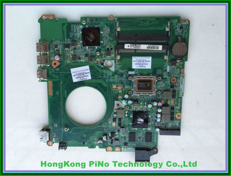 766715-501 766715-001 FOR HP Pavilion 15-P series laptop motherboard DAY23AMB6C0 REV:C A10-5745M mainboard 100% tested laptop notebook motherboard system board 734826 501 734826 001 for hp pavilion touchsmart 15 15 n a4 5000m series 100% tested