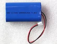 Pack de batteries Li-Ion rechargeables 7.4, 2600 v, 2200mah, 3200mah, 18650 mah, livraison gratuite