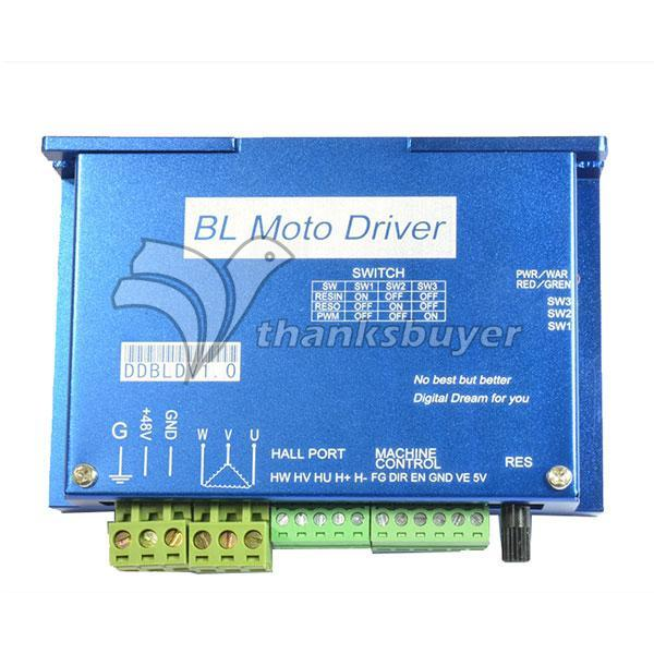 600W DDBLDV1.0 Brushless DC Spindle Motor Driver Controller for CNC Engraving Machine