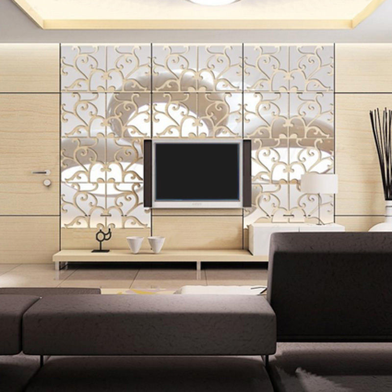 2020 Cm Europe Style Pattern Living Room Wall Sticker 3d Acrylic