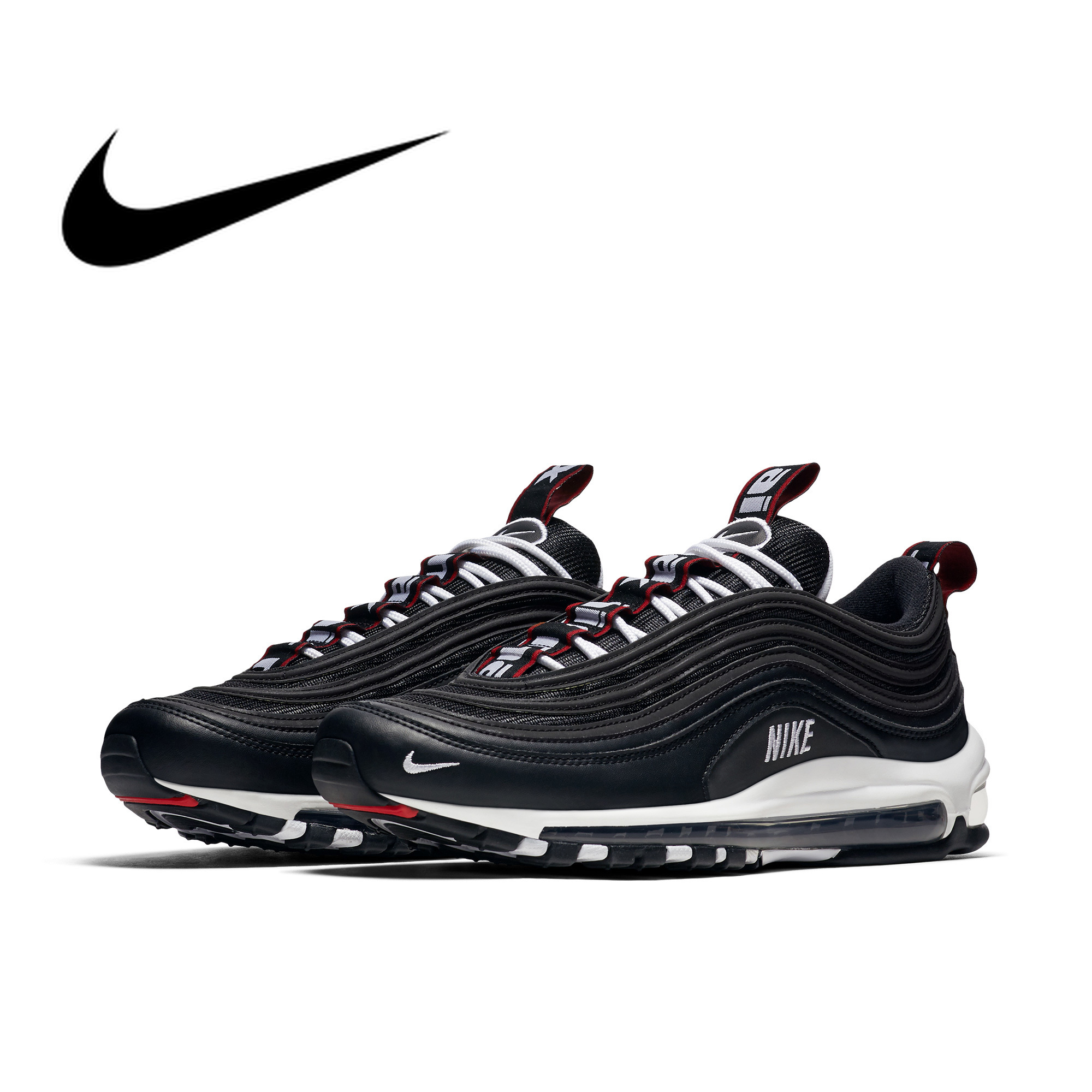 Original authentic NIKE AIR MAX 97 PREMIUM mens running shoes trend breathable outdoor sports shoes footwear designer 312834Original authentic NIKE AIR MAX 97 PREMIUM mens running shoes trend breathable outdoor sports shoes footwear designer 312834