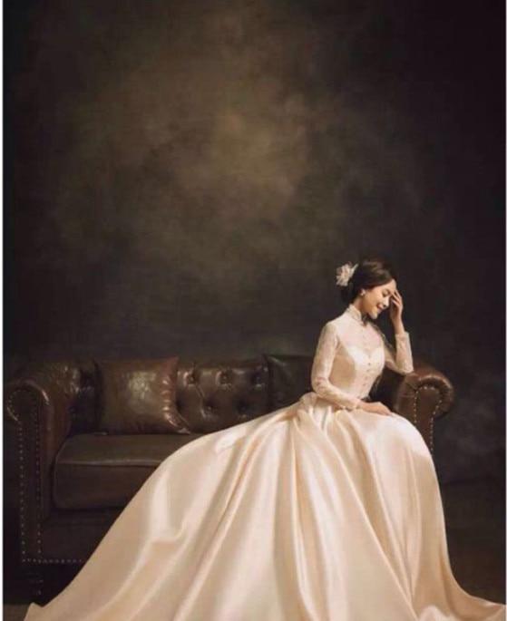 3x6 M Personnaliser Pro Teints Muslin Décors vieux maître peinture Vintage photographie fond pour la photo de mariage studio