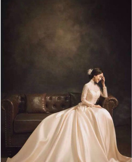 3x6M Customize Pro Dyed Muslin Backdrops old master painting Vintage photography background for wedding photo studio