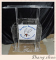 Contemclear acrylic column lecternporary acrylic lectern acrylic lectern church lectern