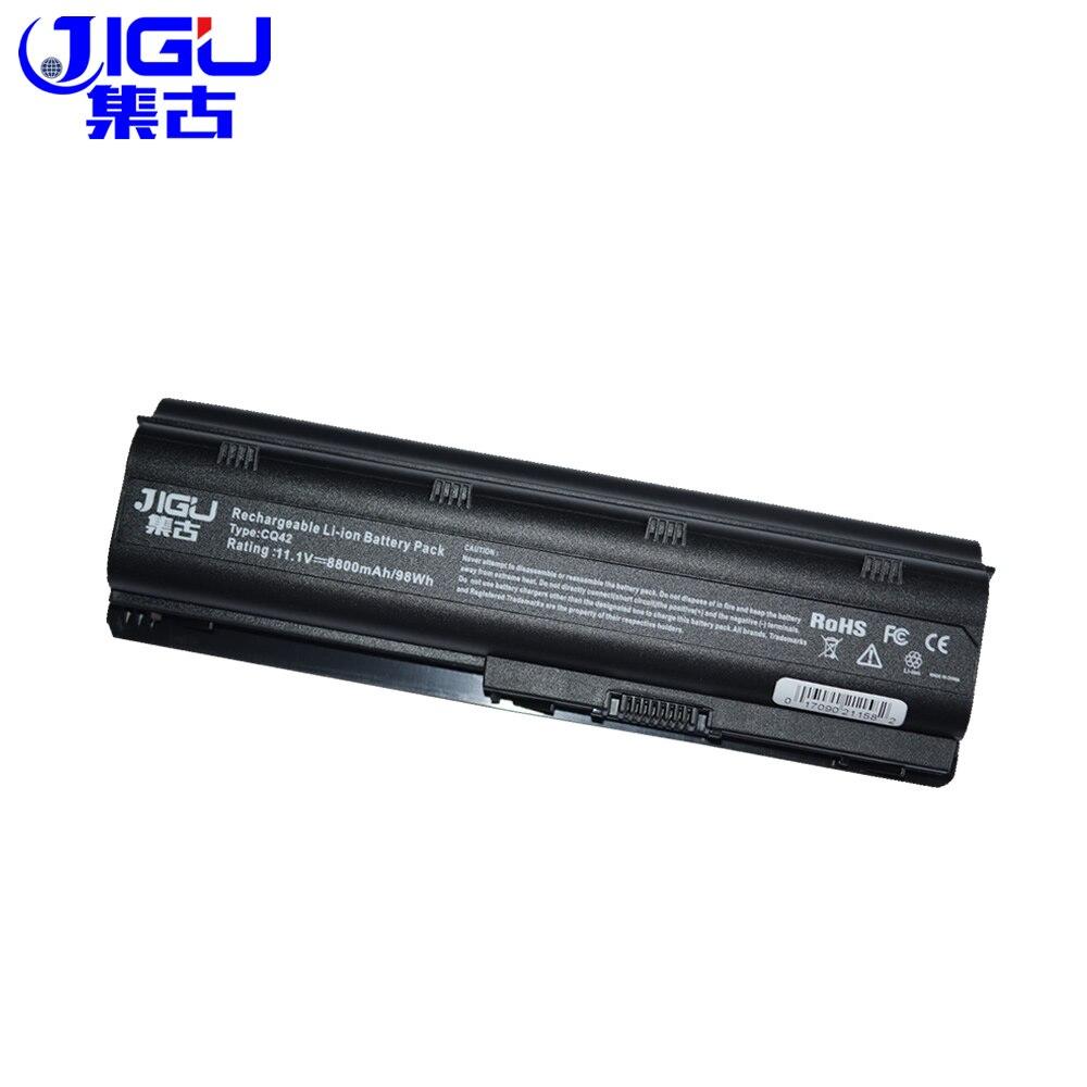 все цены на JIGU 12 cells battery for HP pavilion dv3 dm4 dv5 dv6 dv7 g4 g6 g7 for Compaq Presario CQ42 CQ32 G42 G62 mu06 HSTNN-UB0W онлайн