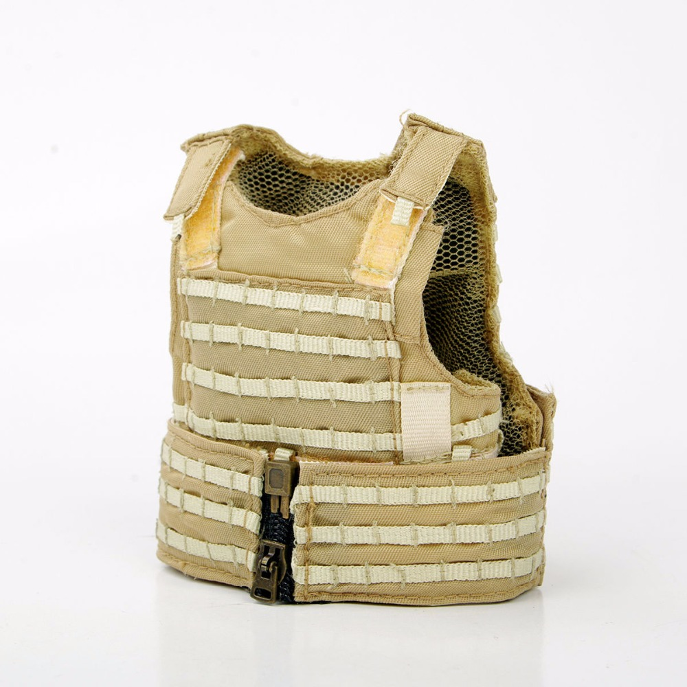 1/6 Scale Desert Camouflage Tactical Vest Male Cloths  For 12 Action Figure Soldier Body Accessories Toys