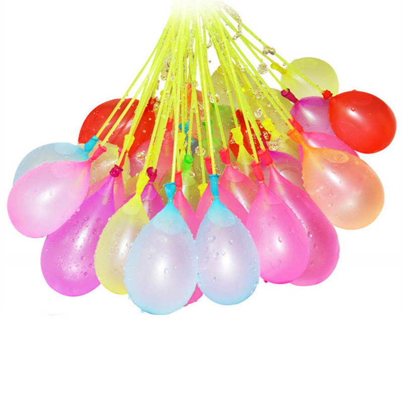 111 PCS/bags full of colorful water balloons hot in summer Beach Swimming pool Forhildren Splashing Rea cdy toys