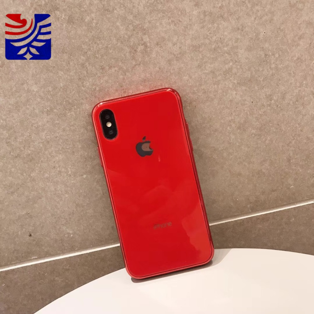 PEIPENG Luxury made of electroplated glass Anti-fall Phone Cases For iphone 6 6S 7 8 Plus X Xs Max Christmas gift Girl Simple and stylish11