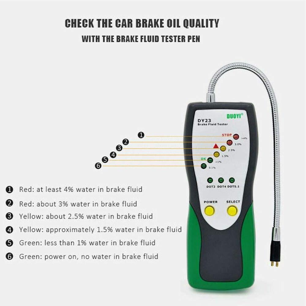 Car Auto Brake Fluid Tester Detector Automotive Diagnostic Tool Oil Quality
