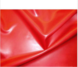 0.4mm Red Latex Rubber Sheet 200cm x 200cm latex bed sheets with glued seams