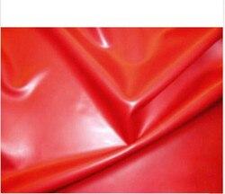 0,4mm Roten Latex Gummi Blatt 200cm x 200cm latex bettwäsche mit geklebt nähte