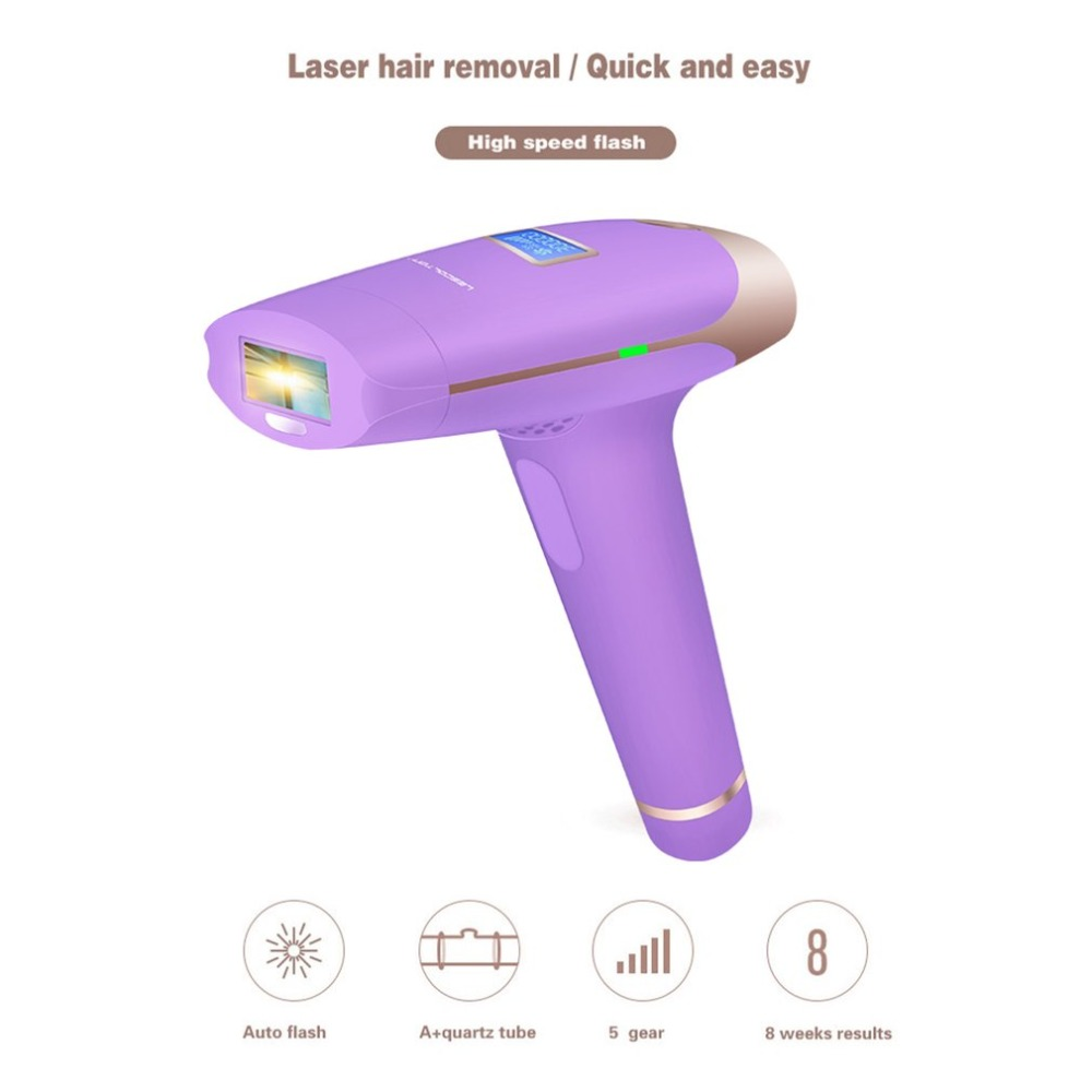 Painless Women Electric Laser Epilator Compact Size Body Armpit Underarm Leg Hair Removal Tools Depilatory Shaver new epilator smooth touch painless women shaver electric hair removal device fast charge female depilatory sense light body