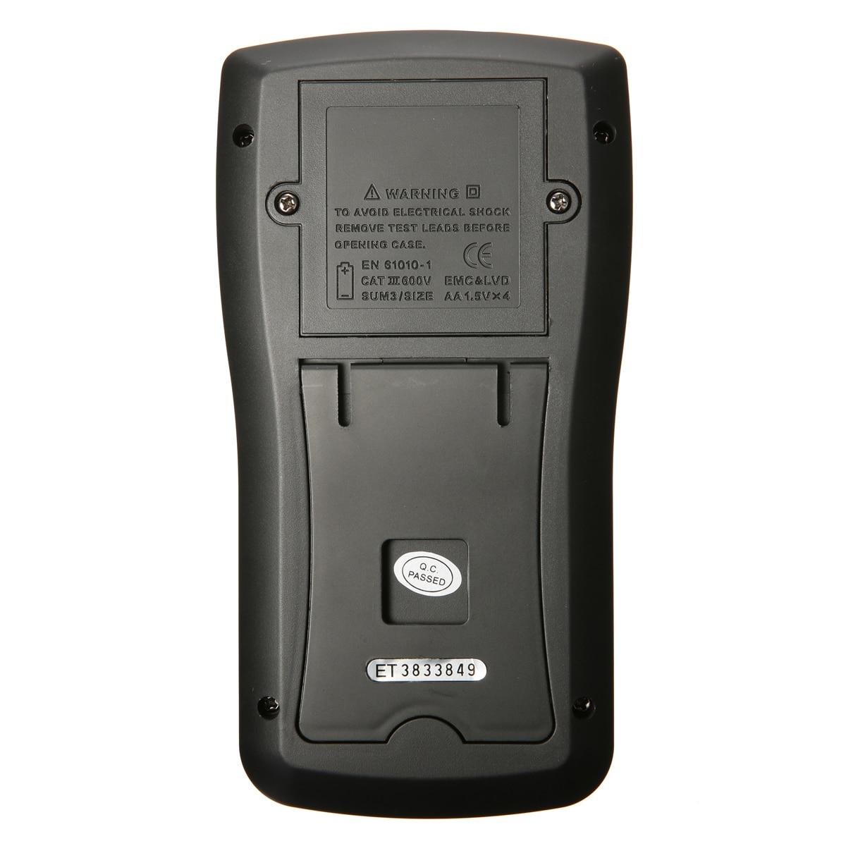 Mutabouret MT8205 2 en 1 numérique Intelligent portable stockage Oscilloscope multimètre courant tension résistance fréquence testeur - 5