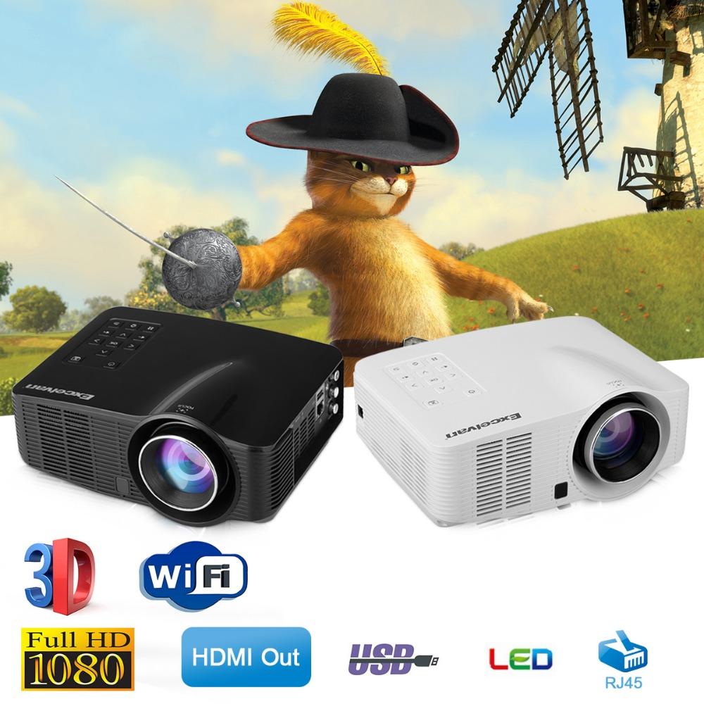Prix pour Excelvan LED3018 LED Android 4.2 Projecteur 1500 Lumens AV/HDMI/USB/SD Home Cinéma Pour Les Jeux L'éducation réunion Projecteur