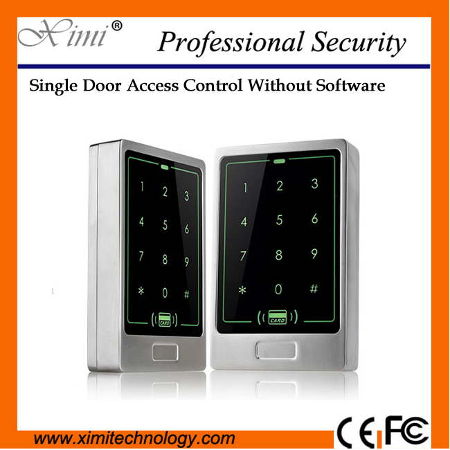 New arrival hot sale IP65 Waterproof 13.56mhz MF card reader standalone without software smart access control  hot sale standalone access control with ic card reader xm103