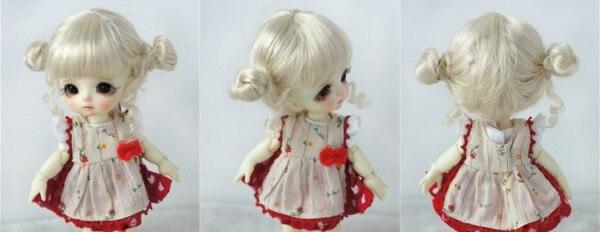 mini doll wig