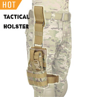 PPT Tactical Gun Holster Concealed Carry AT CP Color 1000D Fabric 420D Waterproof Lining Nylon Webbing Holster Hunting PP7 0075